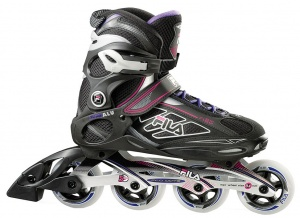 c2701498c9c Fila inline skates Primo Lady 80 women black