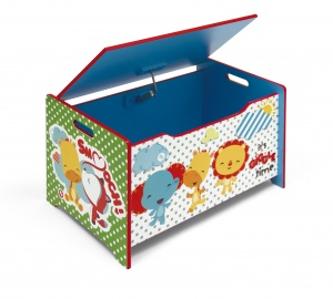 Fisher-Price houten speelgoedkist junior 92 liter