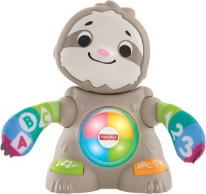 Fisher-Price Linkimals Lose Faultier Junior 22 cm hellbraun