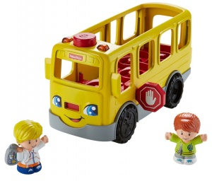 Fisher-Price Little People Schoolbus gelb 14 x 31 x 41 cm