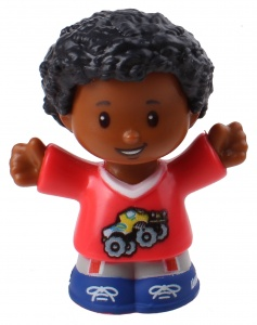 Fisher-Price Little People speelfiguur Chris junior 6 cm