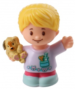 Fisher-Price Little People speelfiguur Ella junior 6 cm