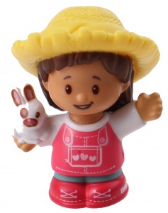 Fisher-Price Little People speelfiguur Farmer Mia junior 6 cm