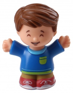 Fisher-Price Little People speelfiguur Jack junior 6 cm