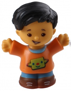 Fisher-Price Little People speelfiguur Koby junior 6 cm