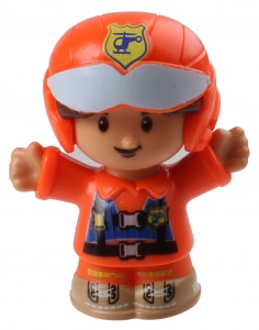 Fisher-Price Little People speelfiguur Louis junior 6 cm
