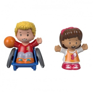 Fisher-Price Little People - Two Figure Pack - Mia & Josh
