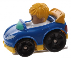 Fisher-Price Little People Wheelies car 6,5 cm blue (DRG96)