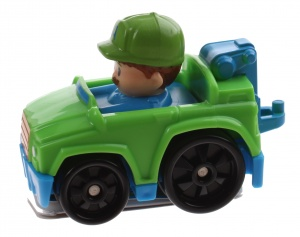 Fisher-Price Little People Wheelies car 6.5 cm green (DRG95)