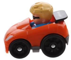 Fisher-Price Little People Wheelies car 6,5 cm orange (BGC64)