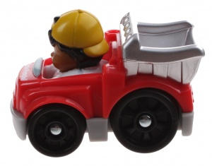 Fisher-Price Little People Wheelies auto 6,5 cm rood (Y5957)