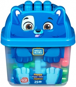 Fisher-Price Mega Bloks First Builders happy puppy 25-delig
