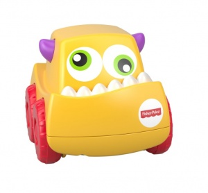 Fisher-Price Mini Monster Trucks geel