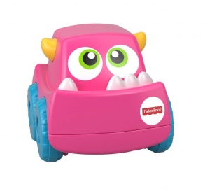 Fisher-Price Mini Monster Trucks roze