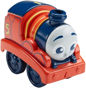 Fisher-Price My First Thomas & Friends trein James 8 cm oranje