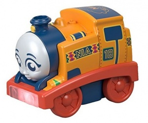 Fisher-Price My First Thomas & Friends trein Nia 8 cm oranje