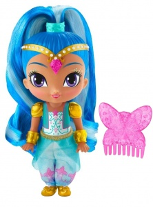 Fisher-Price Shimmer and Shine service jouant morceau 15cm
