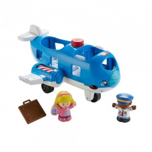 Fisher-Price Spielset Little People Together auf Flugzeug - Reise