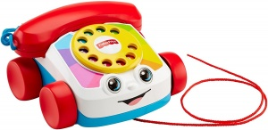 Fisher-Price play Telefon 18 x 16 cm weiß / rot