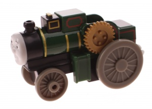 Fisher-Price Thomas Adventures locomotief Trevor 8 cm groen