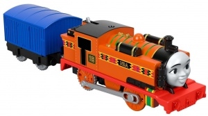 Fisher-Price Thomas de Trein motorisierter Zug Nia 19 cm