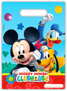 Folat party bags Mickey Mouse junior 6 pieces one-size