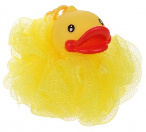 Free and Easy bath sponge bath duck yellow 12 cm