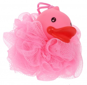 Free and Easy bath sponge bath duckling pink 12 cm