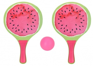 Free and Easy beachballset watermelon 3-piece pink