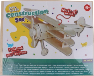 Free and Easy construction kit wood double-decker 25-piece