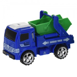 Free and Easy containerwagen 12 cm blauw