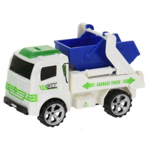 Free and Easy containerwagen 12 cm wit