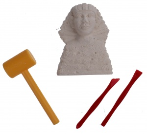 Free and Easy Egyptian discovery set 4-piece sphinx