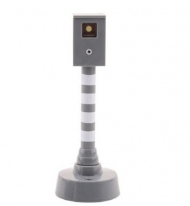 Free and Easy speed camera 15 cm grey