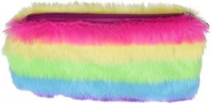 Free and Easy fluffy etui 22 x 12 cm