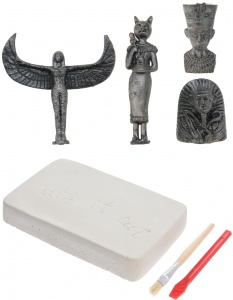 Free and Easy fossielen ontdekset Egyptian Statues