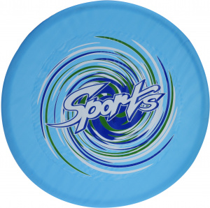 Free and Easy frisbee 58 cm junior nylon blue