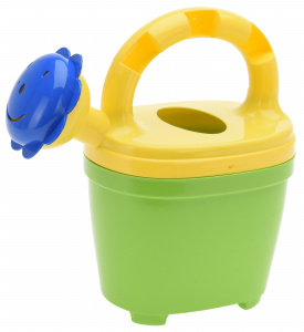 Free and Easy watering can 15,5 x 8,5 cm green/yellow
