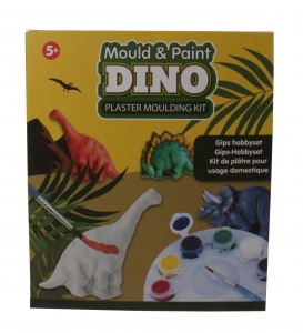 Free and Easy gips hobbyset dino