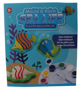 Free and Easy gips hobbyset sealife