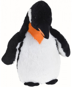 Free and Easy knuffel pinguïn junior 60 cm pluche zwart/wit