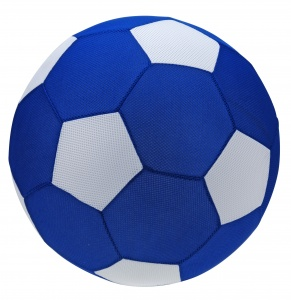 Free and Easy aufblasbarer Ball 50 cm blau