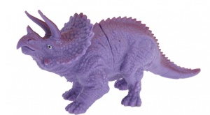 Free and Easy opgravingsset dinosaurus 4-delig paars