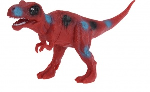 Free and Easy opgravingsset dinosaurus 4-delig rood