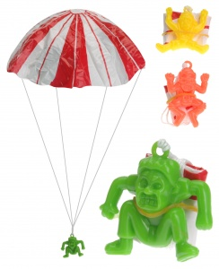 Free and Easy parachute jumpers 3 pieces 4 cm