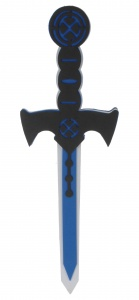 Free and Easy piratenzwaard 42 cm blauw