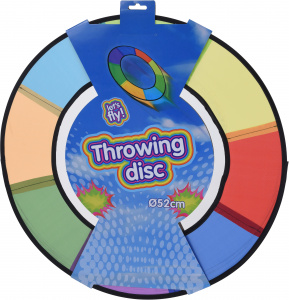 Free and Easy rainbow throwing disc 52 cm