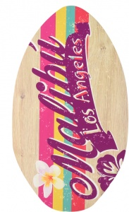 Free and Easy skimboard Los Angeles 89x50 cm