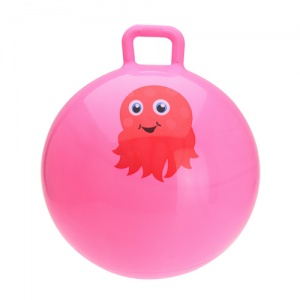 Free and Easy skippybal octopus 55 cm roze