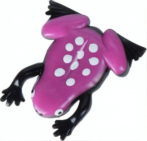 Free and Easy schleimiger Frosch 9 x 8 cm lila